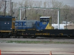 CSX 1177 and Sled 9193